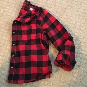 BDG Flannel Button-Up